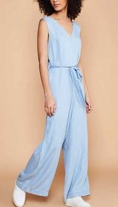 Chambray Belted Jumpsuit New York & Co